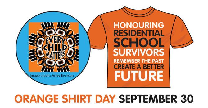 Orange Shirt Day - 30th September 2019 image