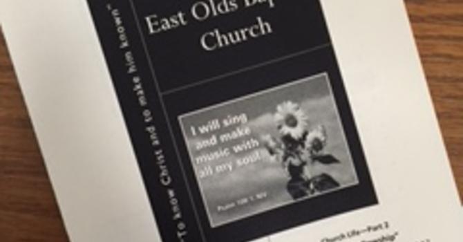 September 17, 2017 Church Bulletin image