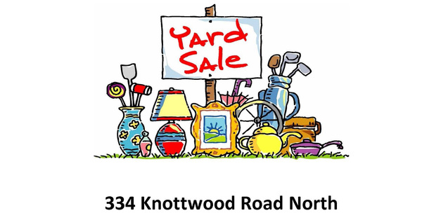 St. Patrick's Annual Yard Sale