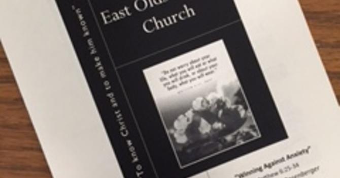 August 27, 2017 Church Bulletin image