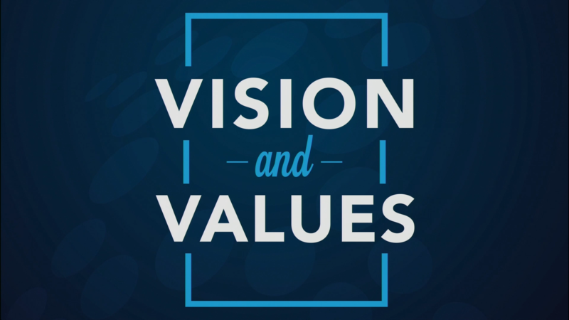 Vision and Values - Introduction