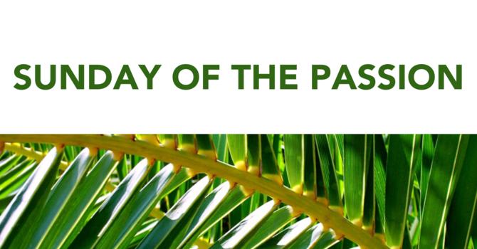 Bishop's Palm Sunday Message image