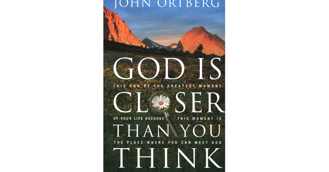God is Closer Than You Think image