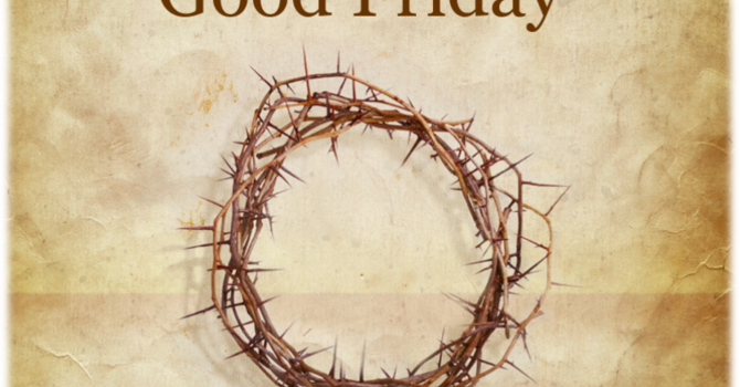 Good Friday 2018 Bulletin image