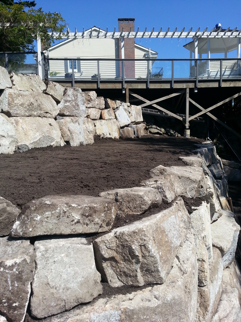 Rockridge, West Vancouver - Retaining Walls