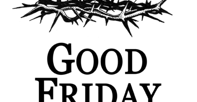 Good Friday Meditation #1 - Jeff Swoope