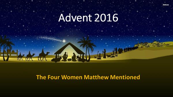 Advent, 2016
