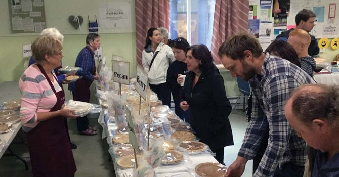 ACW Pie Sale in Sechelt - Huge Success image