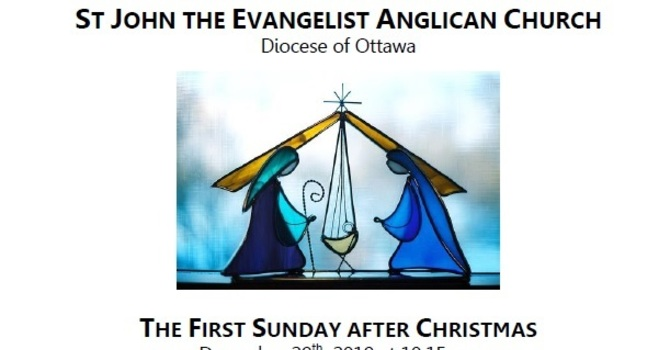 The First Sunday after Christmas