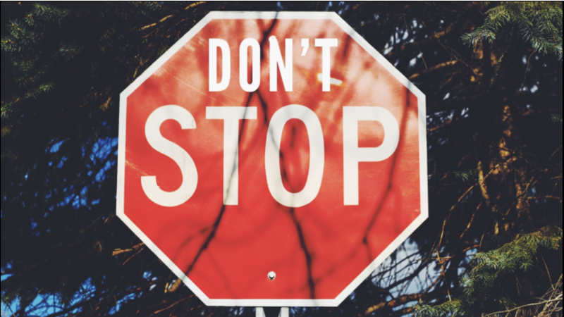 #1 - Don't Stop on Six