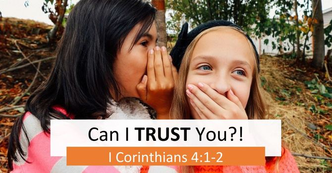 Can I Trust You?!  | 8 A.M.
