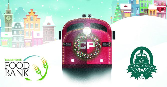 Holiday Train Supports Edmonton Foodbank