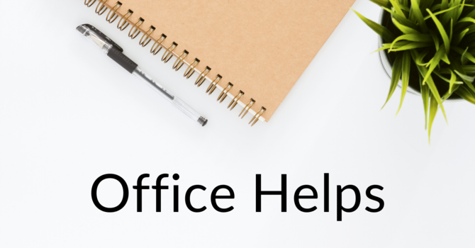 Office Helps
