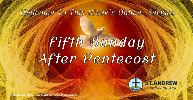 July 5, 2020 Sunday Service On-line image