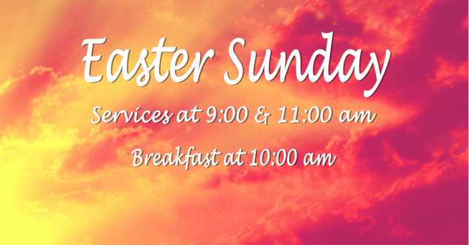 Easter Sunday Bulletin image