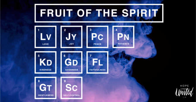 Fruit of the Spirit - Part .1  image