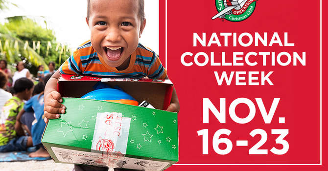 Operation Christmas Child Collection Week image