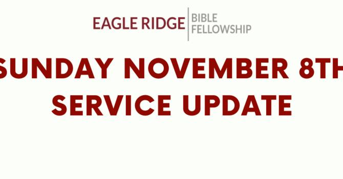Sunday November 8th service still on image