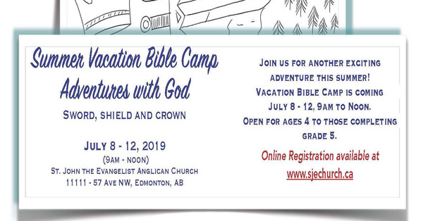 SJE Summer Vacation Bible Camp
