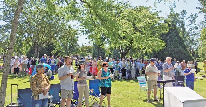 Second Annual Surrey Tri-Parish Eucharist and Picnic image