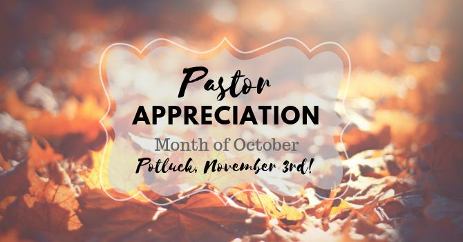 Pastor Appreciation image