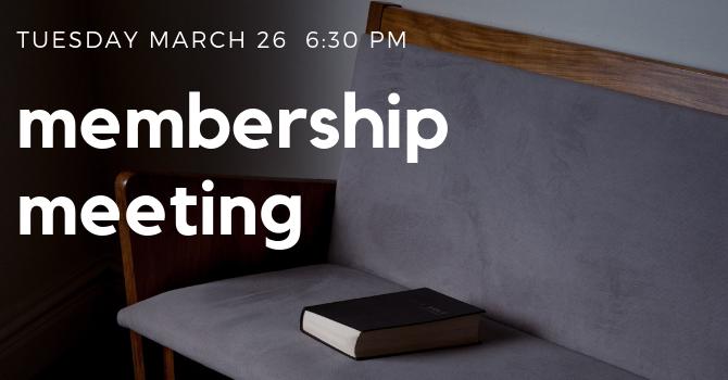 Membership meeting image