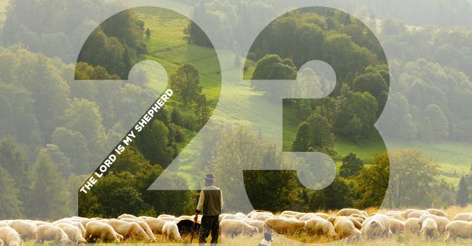 Psalm 23 image