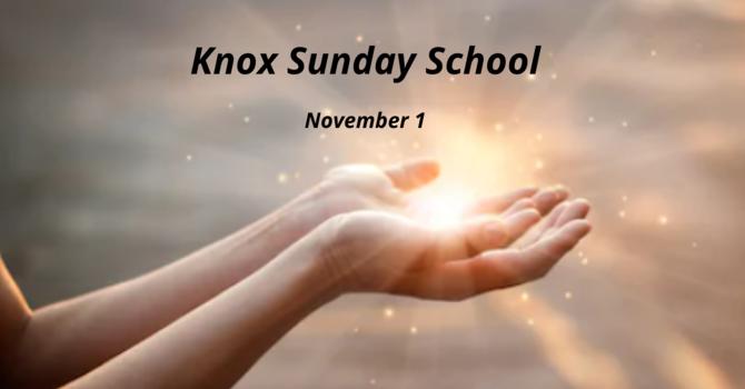 Knox Sunday School image