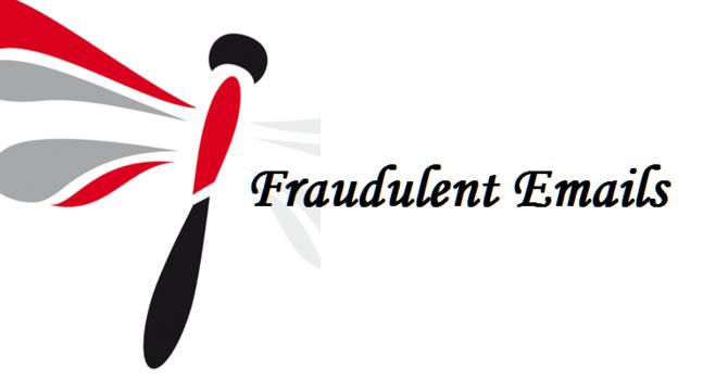 Fraudulent Emails from Bishop Logan image