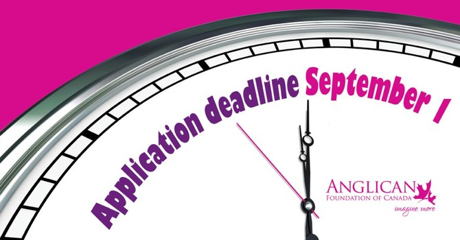 Anglican Foundation Grant Deadline