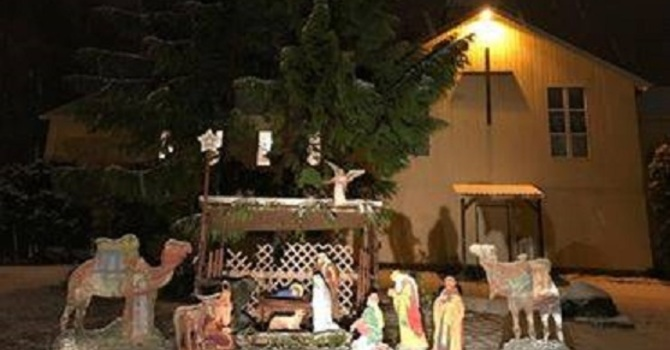 Have you noticed our Nativity scene image