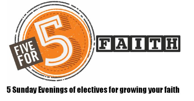 Five for Faith image