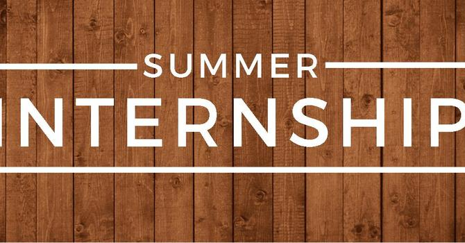 Summer Ministry Intern Positions image