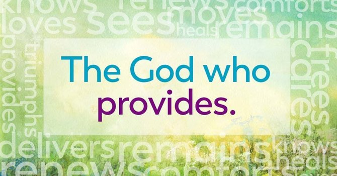Not by chance! The God Who Provides