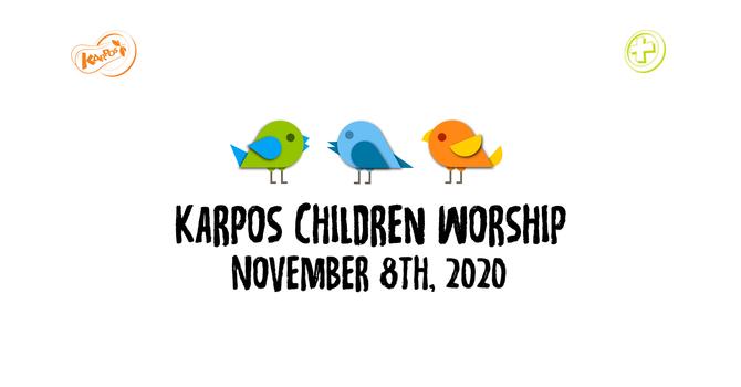 201108 Preschool & PreK/K Sunday Worship