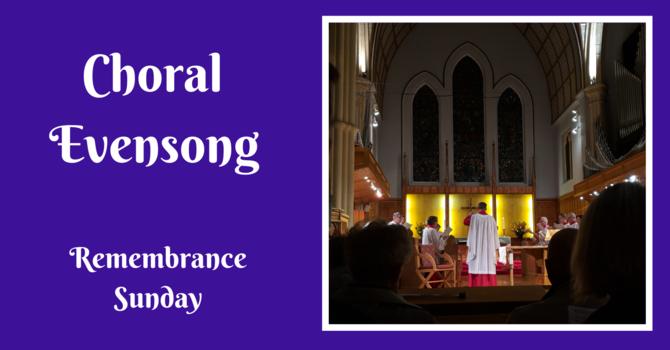 Choral Evensong - November 8, 2020
