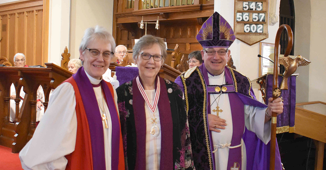 Anne Patterson receives Anglican Award of Merit image
