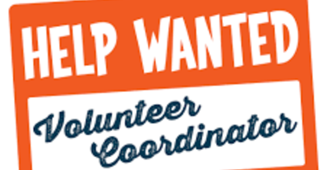 Volunteer Coordinator Wanted!