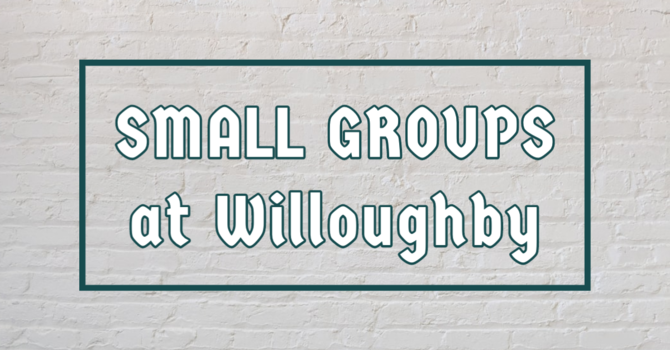 Small Groups & Resources
