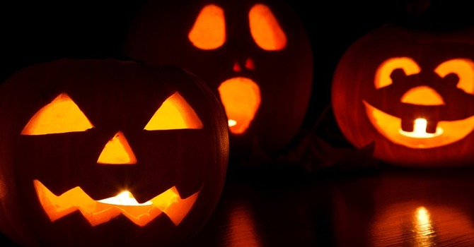 Decorate the church lawn for All Hallow's Eve! image