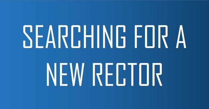Searching for a New Rector image