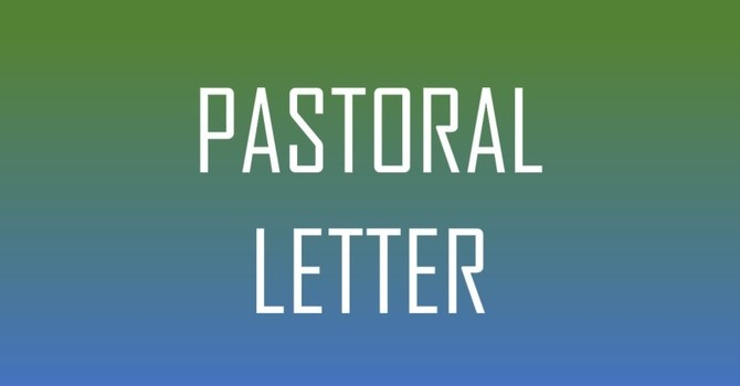Pastoral Letter May 20, 2020 image