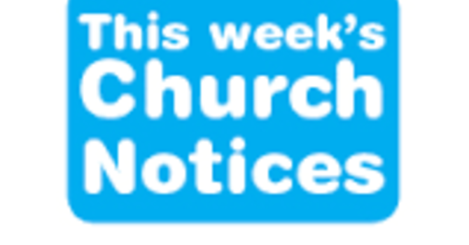 Notices for the Week of September 20th image