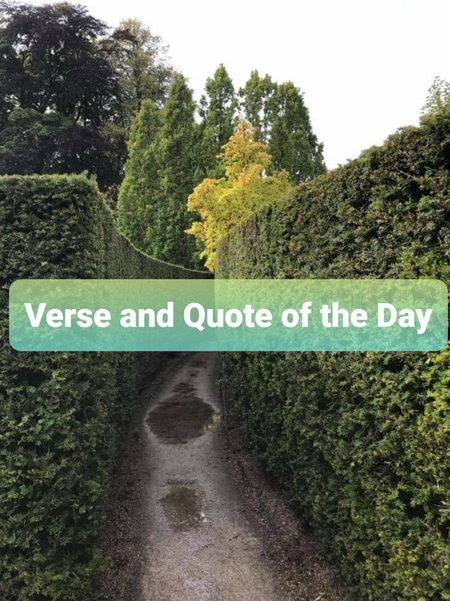 Quote/Verse of the Day