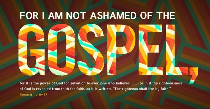 Sharing the Gospel image