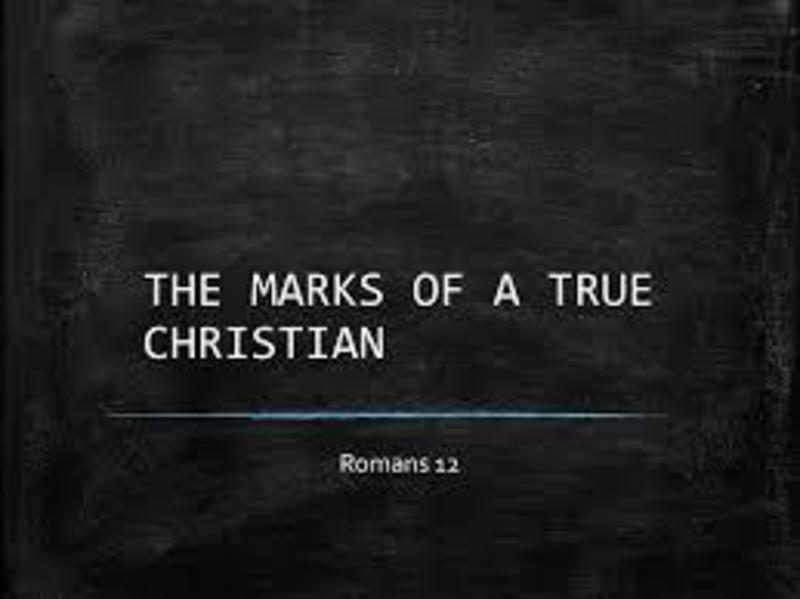 Marks of A Christian 12