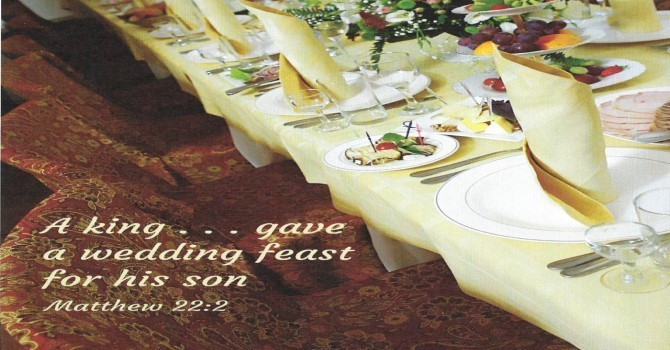 Worship Service Bulletin - Thanksgiving Sunday  image