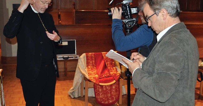 Vancouver Sun Coverage of the Upcoming Consecration and Installation image