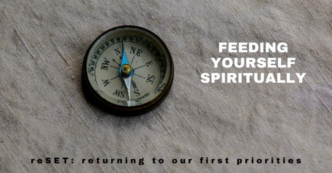 2 Feeding Yourself Spiritually