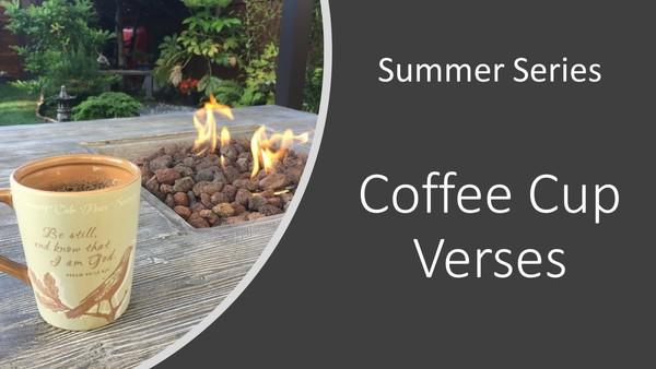 Coffee Cup Verses